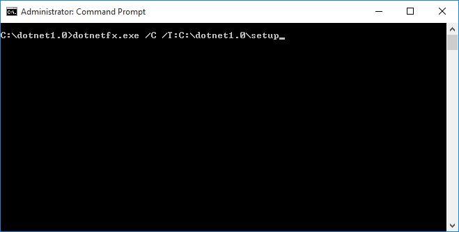怎样在64位Windows上安装.NET Framework 1.0