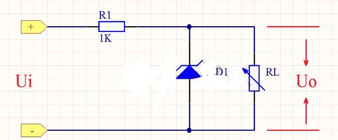稳压管稳压电路图及工作原理