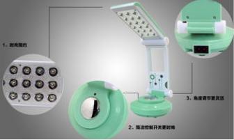 半导体环保节能台灯LED光源的优缺点探讨