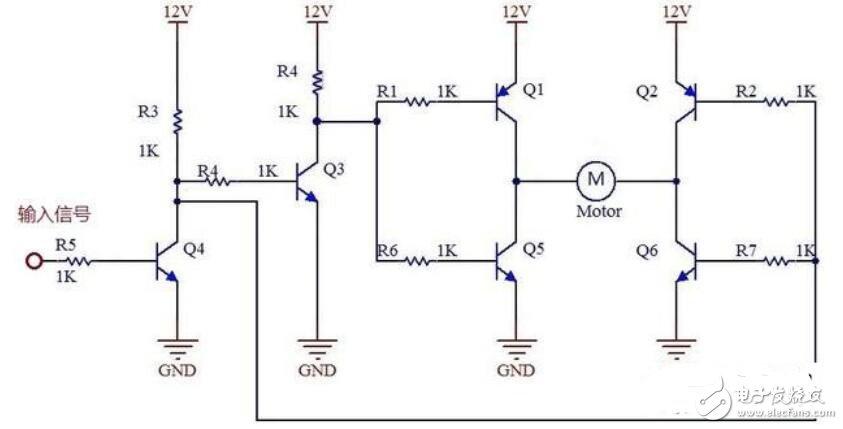 如何实现12V直流电机正反转