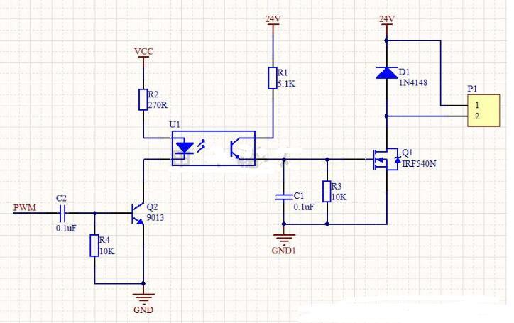 PWM驱动电路的工作过程