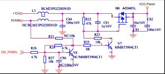 海信TLM32E01液晶彩电主板电路原理图免费下载