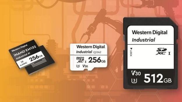 西部数据推首款针对工业及物联网设计的3D NAND技术解决方案