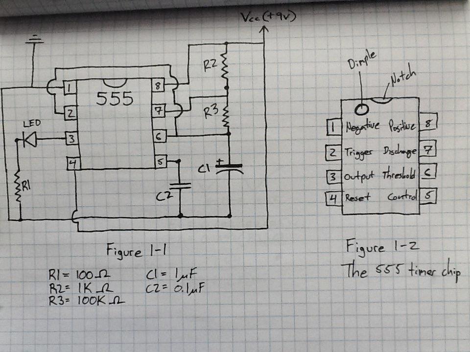 如何使用555定时器芯片构建脉冲发生器电路