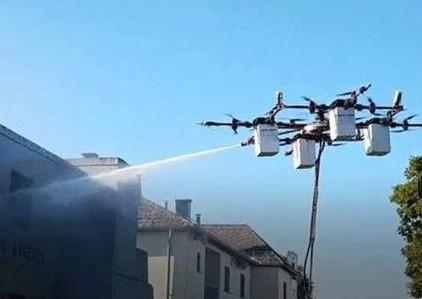 未来无人机将实现完成高危作业