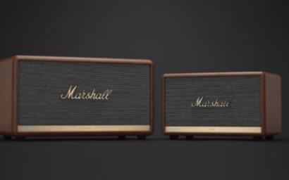 MARSHALL发布内置腾讯小微语音助手的全新智能音箱