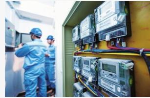 我国全面推进智能电表的安装应用给居民的生活注入新...