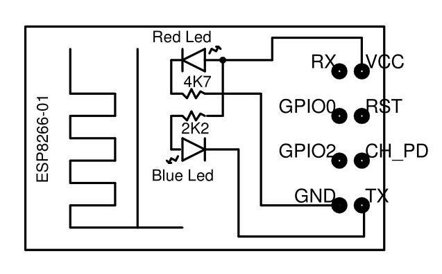 怎样使用ESP8266-01引脚和指示灯