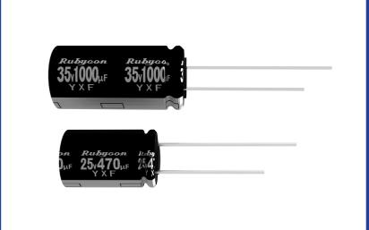 YXF系列引线型铝电解电容器的数据手册免费下载