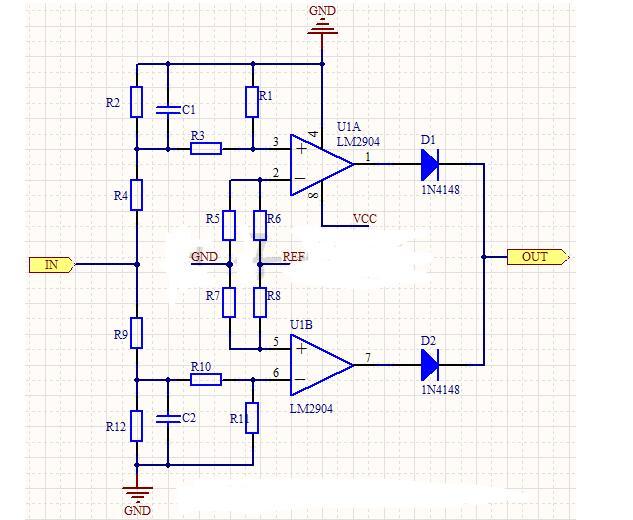 输入过压欠压检测电路图