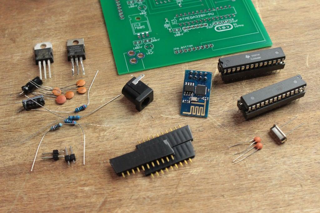 如何结合4英寸7段显示器和ESP8266 Wifi模块来创建8位显示器