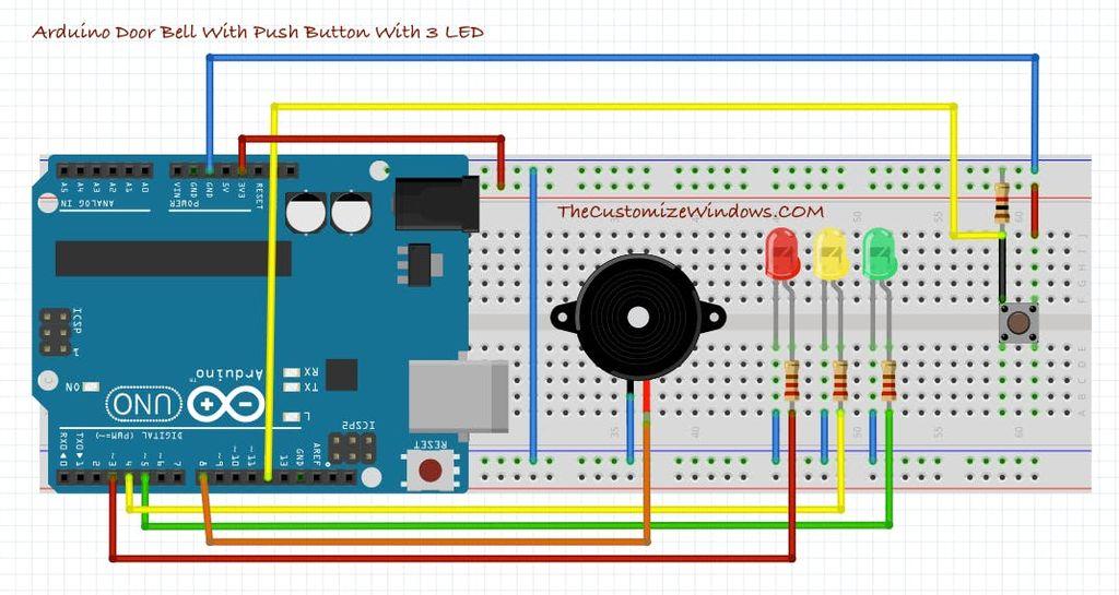 带VU表的Arduino门铃的制作