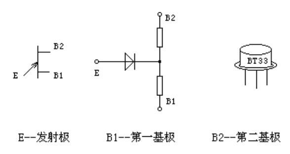 单结晶体管的符号形状