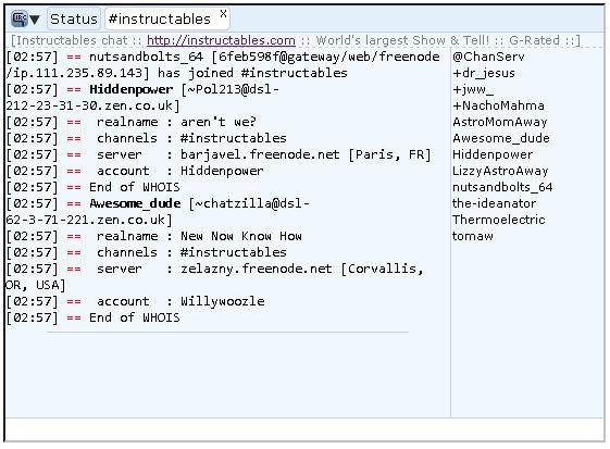 怎样将IRC聊天框添加到您的网站