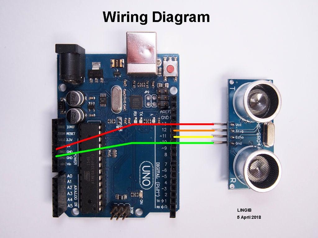 超声波测距仪的制作图解