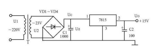 直流稳压电源电路图