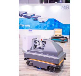 MiR携以安全性著称的机器人产品矩阵亮相工博会