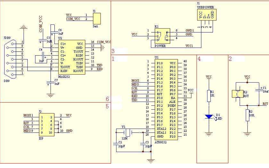 STC8A8K最小系统开发板完整的PCB和原理图免费下载