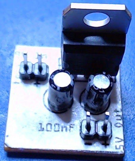 9V至5V稳压电源的制作教程