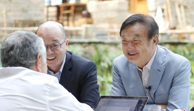 华为任正非表示可以向美国转让5G技术来帮助美国建立5G产业