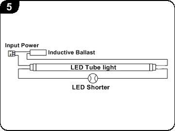 灯具接线中的启动器可以分辨出它是镇流器的类型.