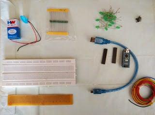 如何构建LED POV