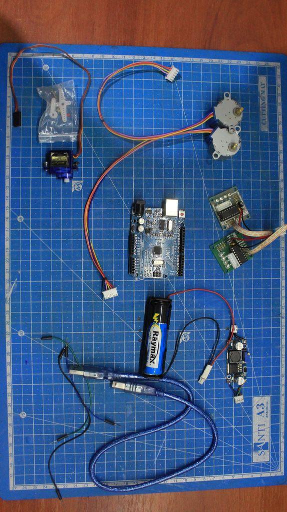 如何制作一个简易arduino绘图仪