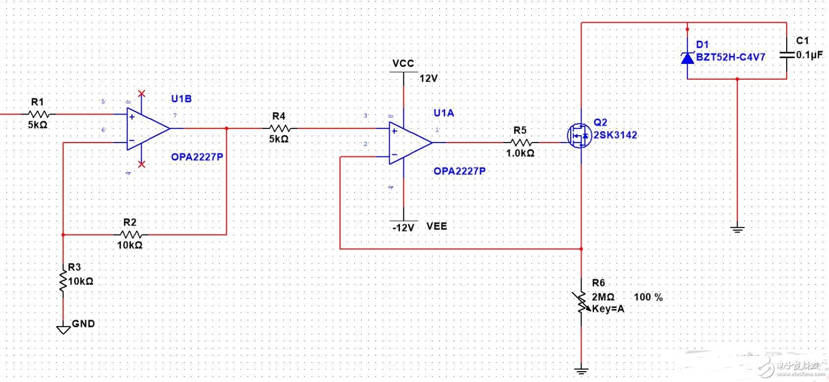 音圈电机驱动电路