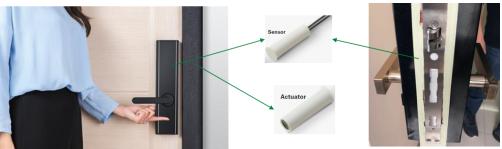 Reed系列傳感器在智能門鎖中的應用原理解析