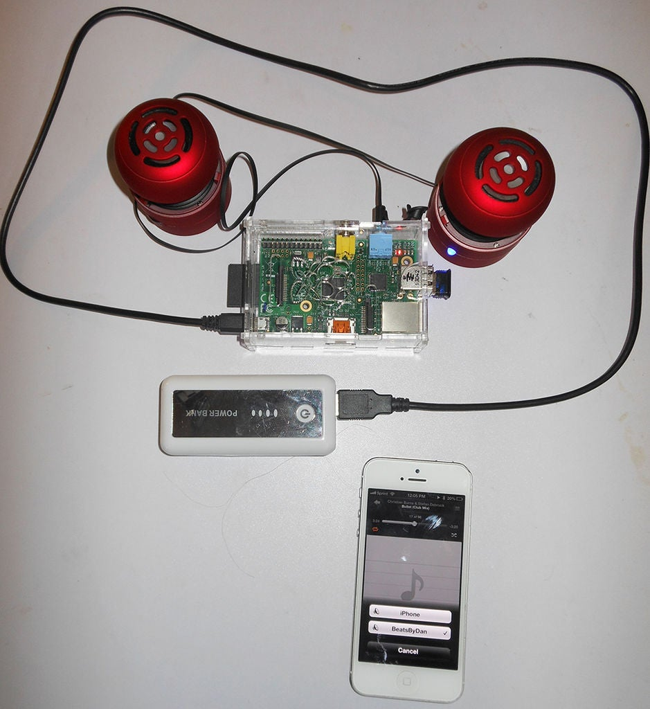 怎样将树莓派变成无线便携式蓝牙音频系统