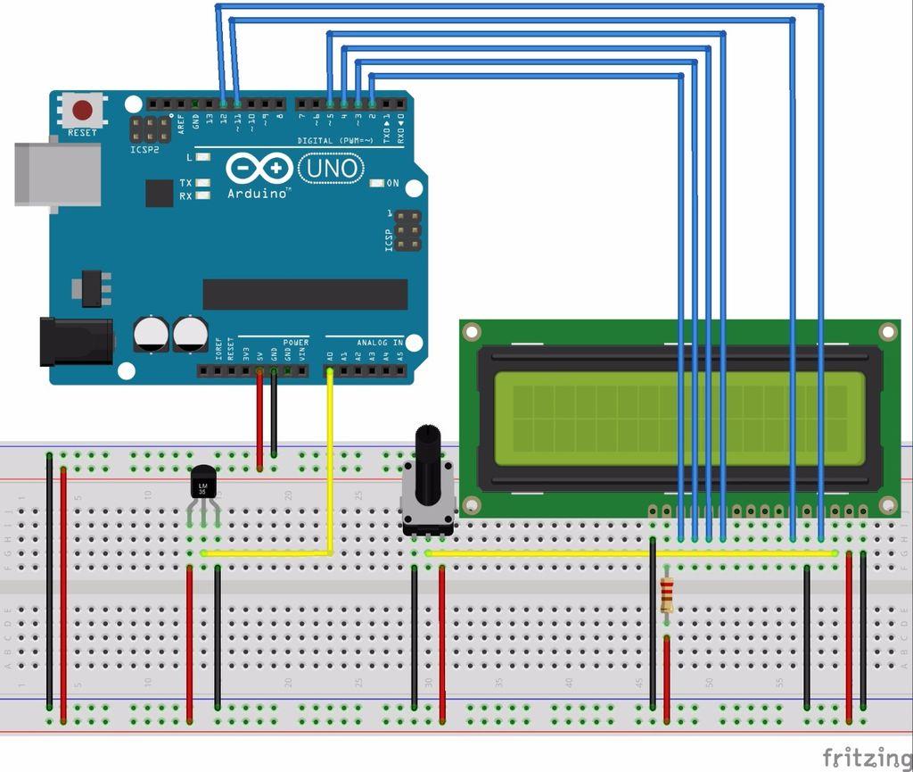 如何在LCD屏幕上显示温度