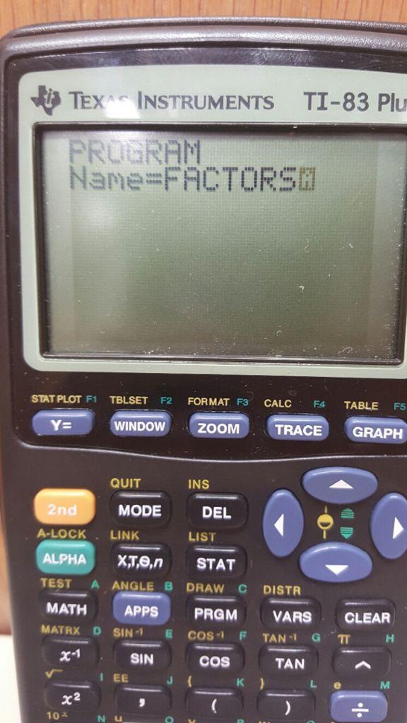 如何在TI-83/TI-84图形计算器上分解多项式