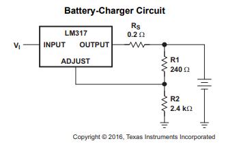 LM317三端正电压调节器的数据手册免费下载