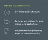 德國AKASOL推出新型高能鋰離子電池 最高可達1C最大功率為500kW