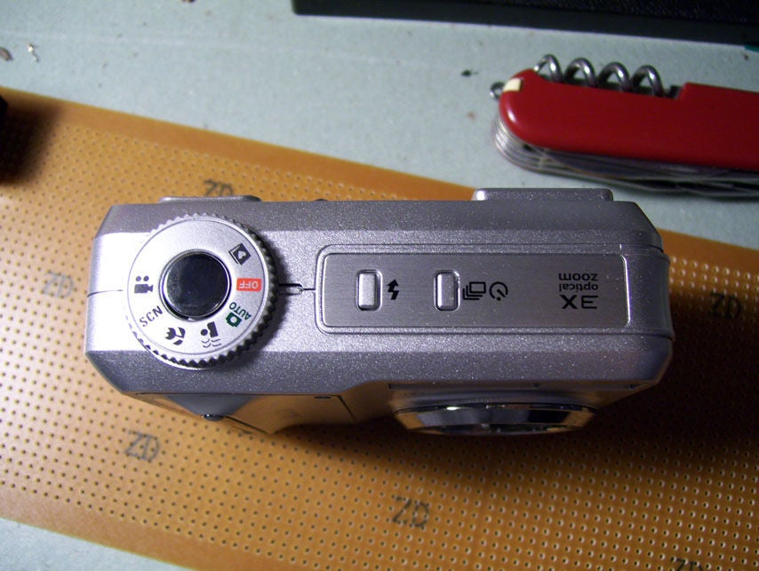 柯达C653快门触发器的制作