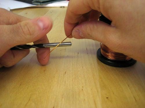 小型空芯电感器的制作教程