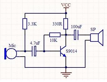 三极管放大电路中如何计算偏置电流和偏置电压的值