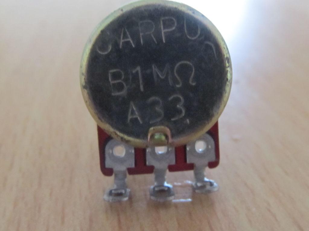 怎样测量电位计的电阻