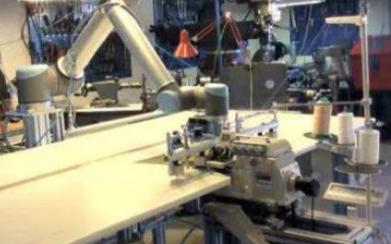 工业机器人在服装制造领域的应用