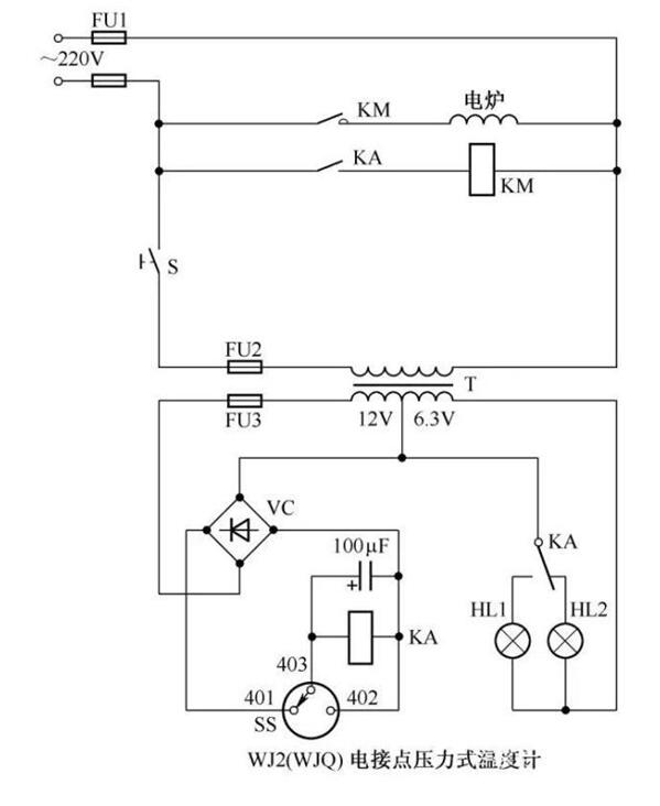 简单的温度控制电路分享