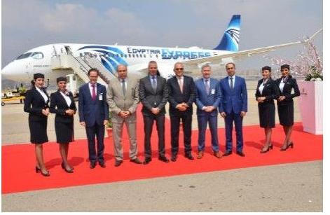 埃及航空与空中客车达成协议将向空客接收总计12架A220-300飞机