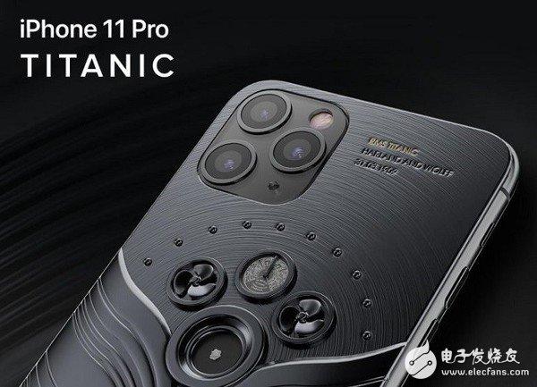 Caviar推出了iPhone 11 Pro限量定制版泰坦尼克和Vostok 1太空飞船
