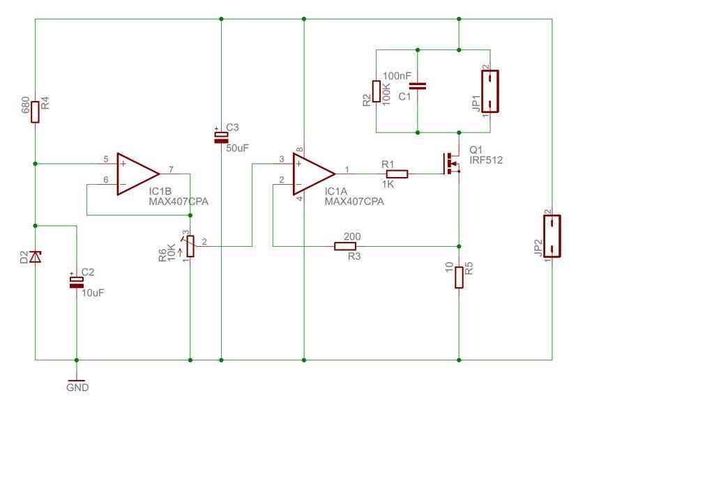 激光二极管驱动器的制作