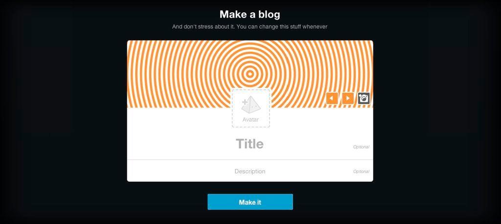 怎样创建一个Tumblr帐户