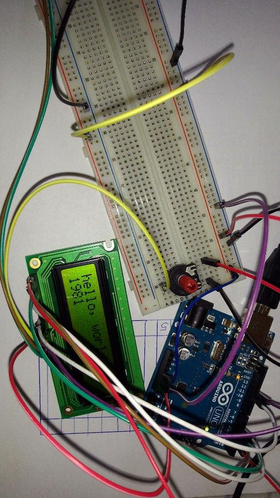 Arduino电压表的制作