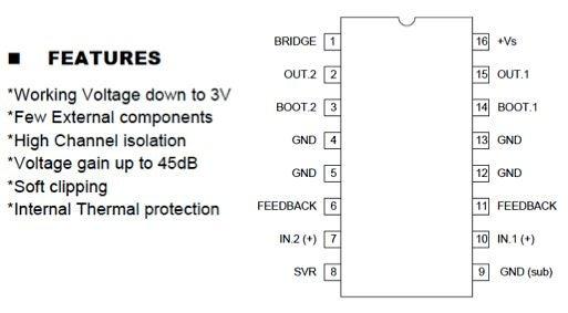 如何使用TEA2025 IC制作5瓦立體聲音頻放大器