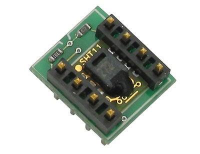 如何使用SHT11传感器可视化湿度