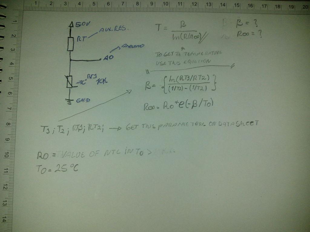 带Arduino的NTC温度传感器的制作