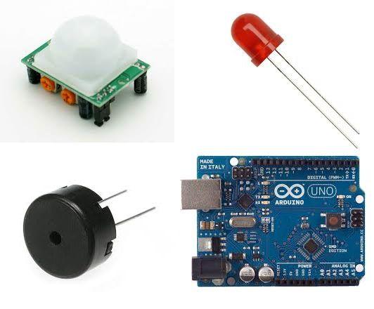如何使用Arduino微控制器发出运动感应警报