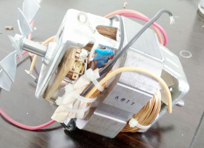 串激电机原理结构_串激电机接线图